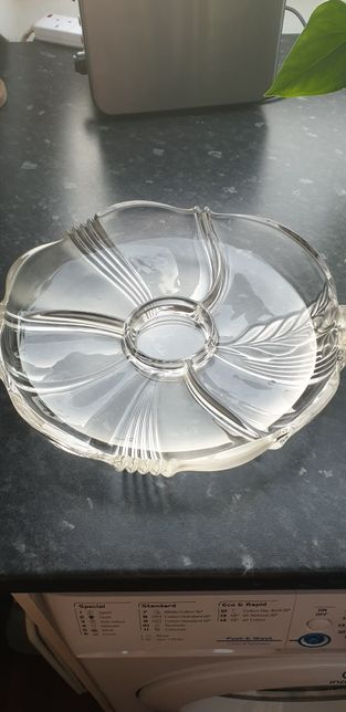 Vintage relish tray/ serving platou