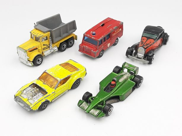 Lot 5 masinute vintage Matchbox & Hotwheels