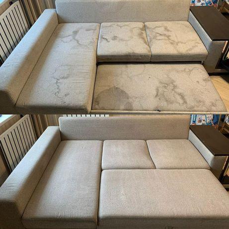 Химчистка дивана. Профессиональный ЭКО чистка мягкой мебели