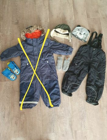 Combinezon / salopeta iarna ski, H&M, marimea 98 (3 ani), Icepeak