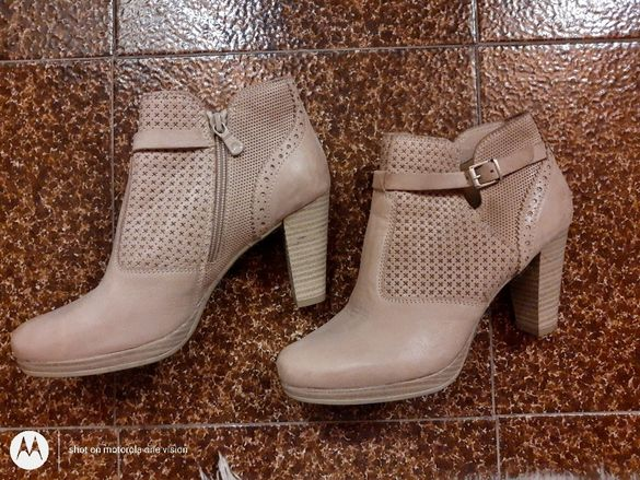 Обувки /боти от естествена кожа