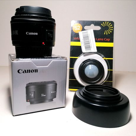 Продам объектив Canon 50mm f/1.8