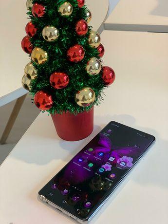 Telefon Samsung S10 plus  128 GB , 8GB RAM , 4G , White + husa cadou