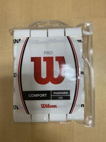 Overgrip Wilson Pro - 12 Pack - White