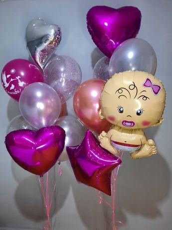 Воздушные шары на выписку,  дни рождения, Сырга Салу, арки из шаров