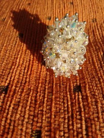 Inel argint cu cristale Swarovski