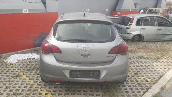 НА ЧАСТИ! Opel Astra J 1.6i Turbo АВТОМАТИК 180 кс. Климатик Хечбек