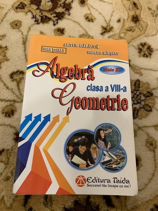 Culegere matematica clasa a 8-a Evaluarea Naționala algebra+geometrie