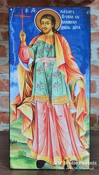 Икона на Свети Лазар Български ikona sveti lazar balgarski