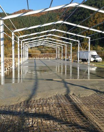 Vând hală structură metalica 11.09m×45m×4m