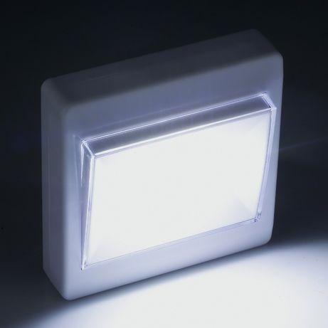 Лампа-ключ COB LED, подвижна, с магнит, единична и двойна