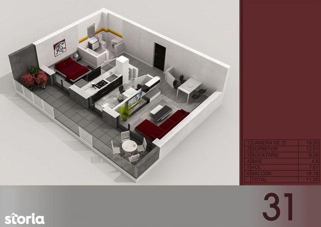 Apartament 2 camere Titan - Metrou Titan-PARC I.O.R
