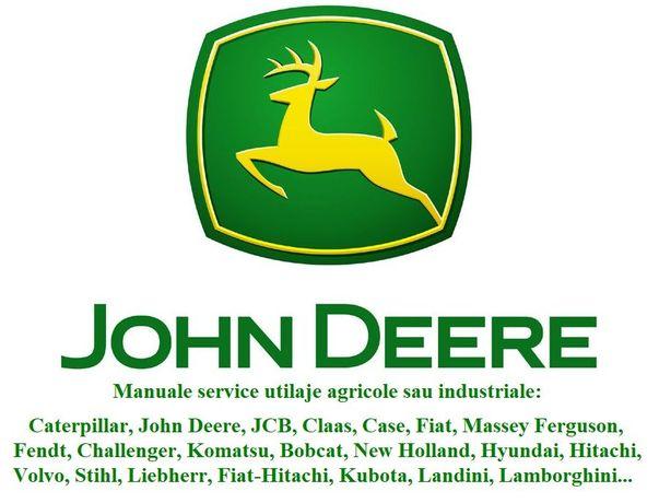 Manual service reparatii combina John Deere orice model