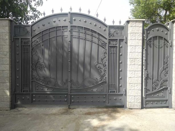 Покраска ворот. Покраска. Покрасочные работы