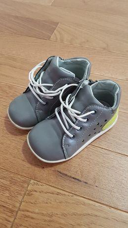 papuci din piele pt băieți nr 21