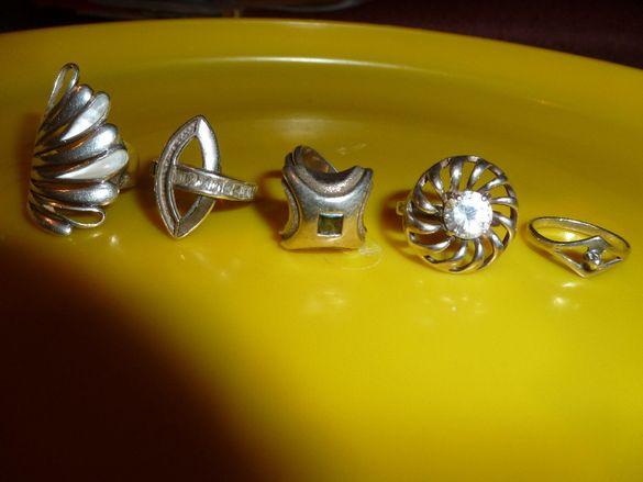 красиви сребърни пръстени