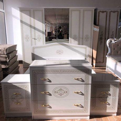 Новая спальня Грация 6д, со склада