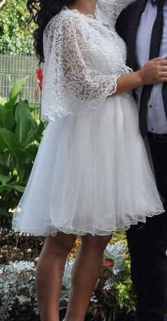 Vând rochie de mini mireasa