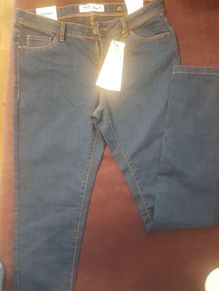 чисто нови Дамски дънки , класически , koton - марка