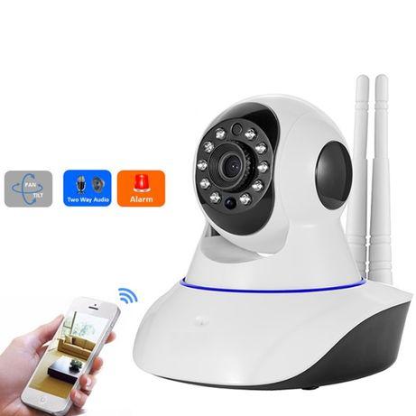 Wi-Fi Онлайн Поворотная FullHD Камера Вай-Фай Видеоняня 2MP