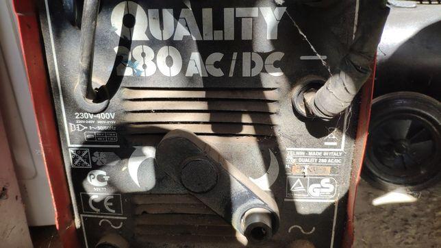 Aparat Sudura - Quality  280 Ac/Dc - sudează Și Aluminiu - Adus German