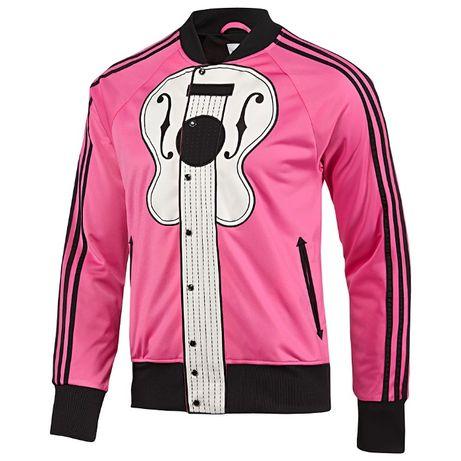 Adidas Originals Jeremy Scott Pink Guitar Мъжко Горнище size M