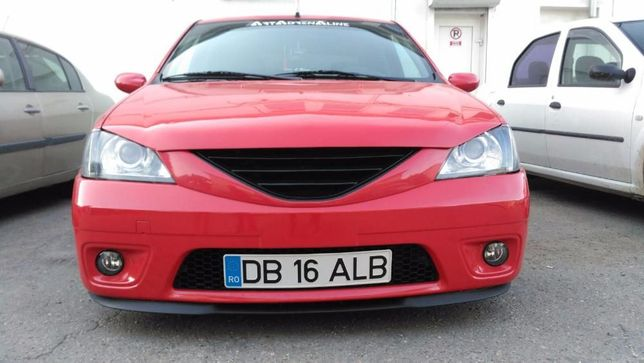 Lip/ Spoiler/ Prelungire bara Dacia Logan