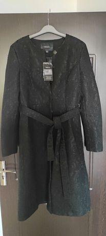 Palton de primăvară-toamnă NISSA nou, culoare: negru