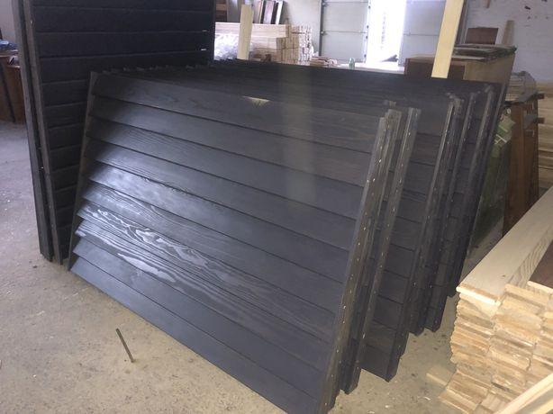 Garduri lemn brad