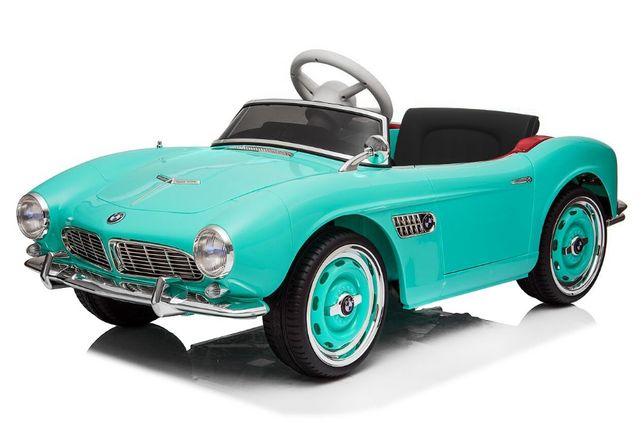 Masinuta electrica Kinderauto Bmw 507 Oldtimer 70W PREMIUM #Albastru
