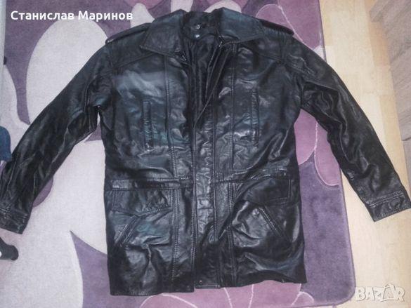 Мъжко Кожено яке -естествена кожа