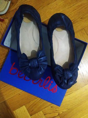 Продам туфельки балетки 33 р-р , кож, Испания