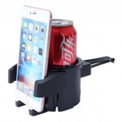 Стойка за телефон и чаша 2 в 1 универсална,мултифункционална