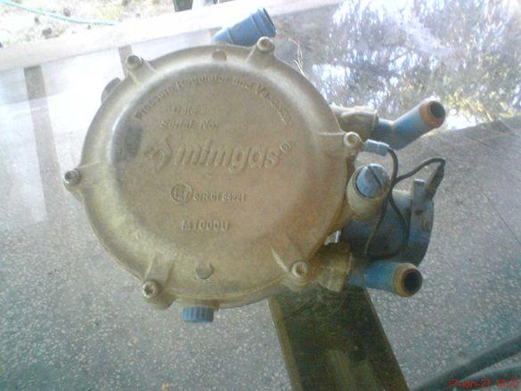 Изпарител,газов клапан и двуцевка