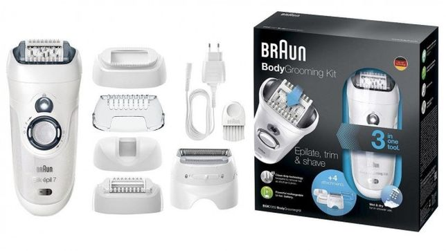 Epilator masina de ras pt barbati Grooming kit 3 in 1 Braun BGK-7050