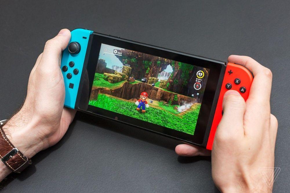 Consola Nintendo Switch, modata, card 128gb Piatra Neamt - imagine 1