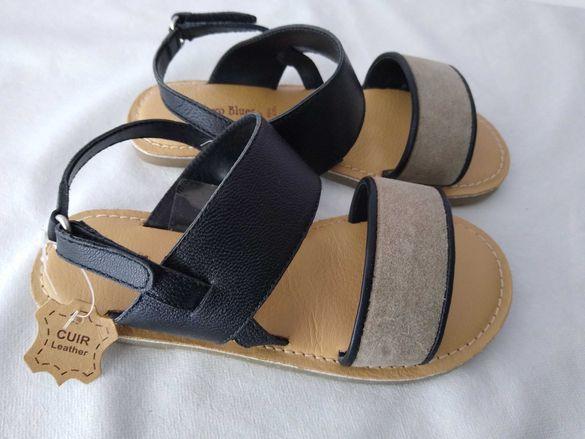 Нови естествена кожа сандали №31