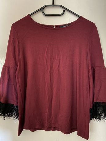 Bluza cu volanase Reserved, S