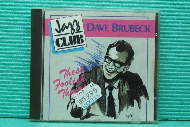 Cd - Dave Brubeck - These Foolish Things