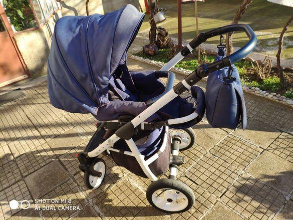 Детска количка Da Da Paradiso Mimo 2в1
