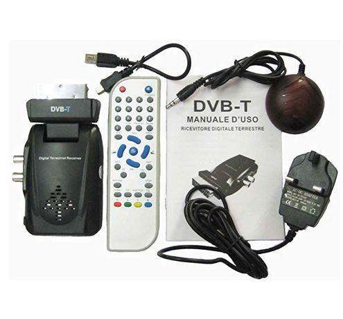Receptor DVB-T TV-1108V, cu mufa Scart