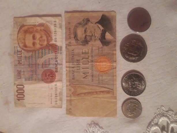 Monede vechi franta