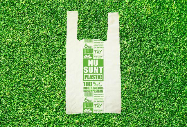 Sacoșe Pungi Biodegradabile maieu 4 kg 0,20 lei 1 punga