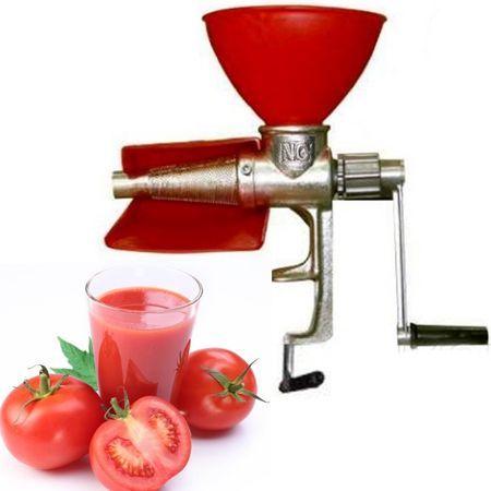 Masina manuala de stors/tocat rosii,separator rosii din fonta