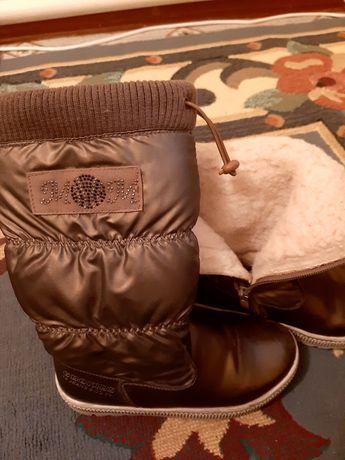 Сапоги зимние покупали за 25000 натуральный мех
