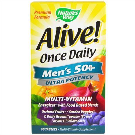 Nature's Way, Alive , мультивитамины для мужчин от 50 лет