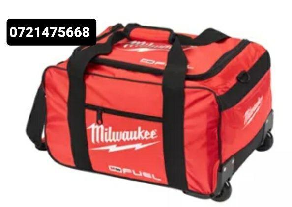 Troler pe roți geantă pentru scule Milwaukee model FUEL