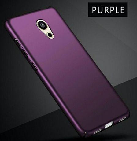 Луксозен гръб в лилав матов цвят за телефон Meizu M3 Note M5 Note U10