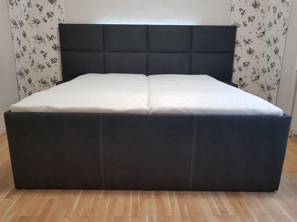Мебели по поръчка тапицирана спалня диван обзавеждане