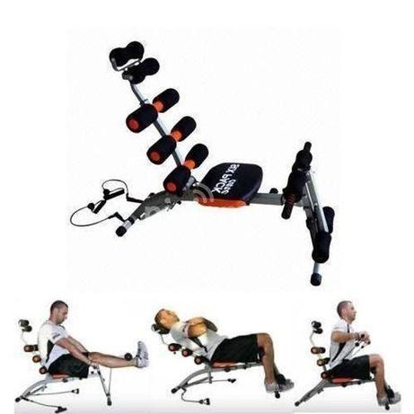 тренажер для пресса 6 в 1, тренажер для спины, для ног, для рук.